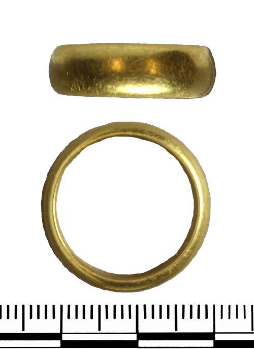GLO-368E0B: GLO-368E0B Post medieval posy ring