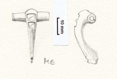 NLM499: Bow brooch