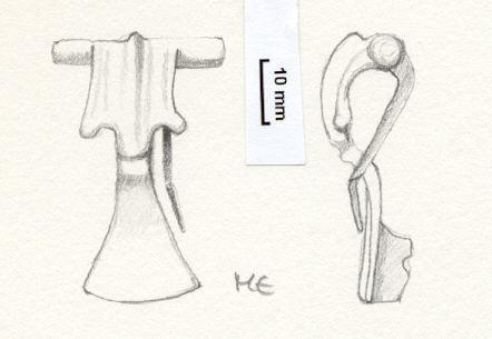 NLM565: Bow brooch