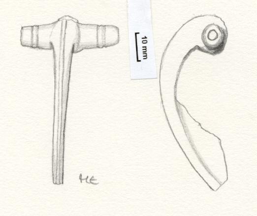 NLM757: Bow brooch