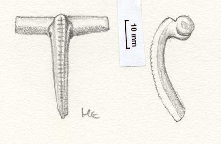 NLM762: Bow brooch