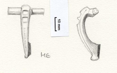 NLM773: Bow brooch