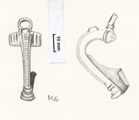 NLM789: Bow brooch