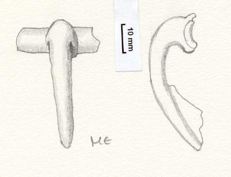 NLM793: Bow brooch