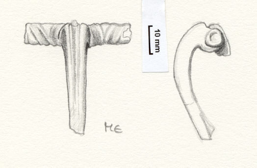 NLM798: Bow brooch