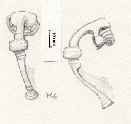 NLM909: Bow brooch