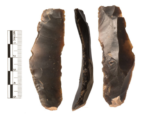 WAW-5FCDC8: Neolithic retouched blade
