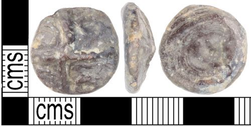 A resized image of A cast copper alloy Iron Age potin
