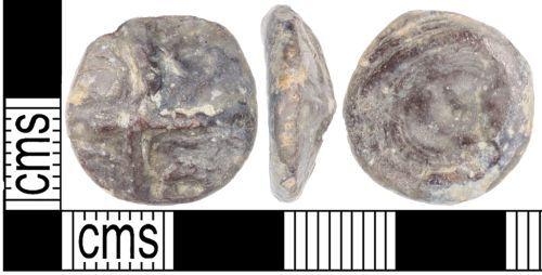 KENT-F49521: A cast copper alloy Iron Age potin