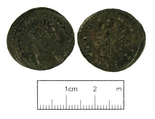 LON-43E4E2: Roman coin: Nummus of Constantine I