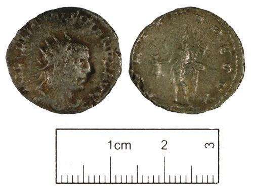 LON-448121: Roman coin: Radiate of Gallienus (Joint reign)