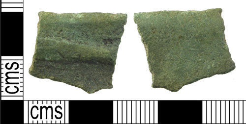 A resized image of Medieval vessel (rim fragment)