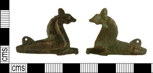 WILT-D86D36: Roman plate brooch