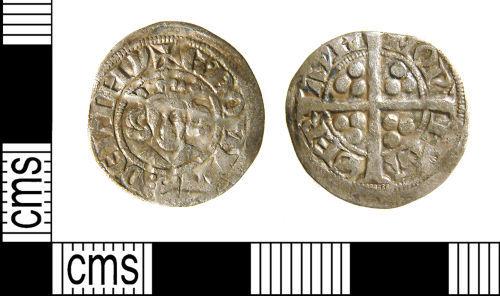 WILT-013333: Medieval coin : Edwardian sterling imitation, Valéran de Ligny