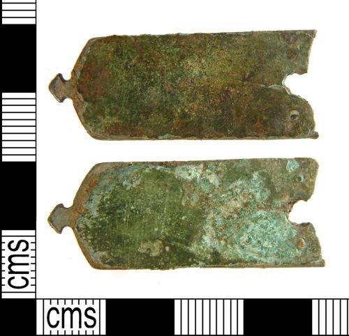 WILT-CFC0A4: Medieval strap-end