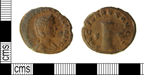 WILT-7EBBD3: Roman coin : As of Otacilia Severa