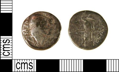WILT-77C591: Roman coin : Republican denarius of Cordius Rufus, Mn.