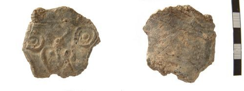 A resized image of unidentified piece of decorated lead