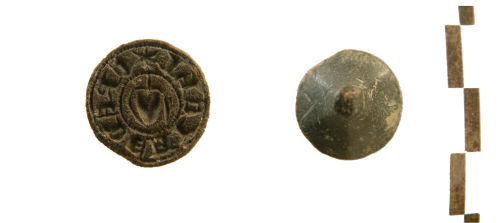 WILT-359CB6: Medieval seal matrix