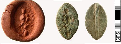 WILT-3148B4: Medieval seal matrix