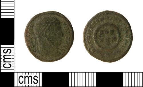 WILT-14A435: Roman coin : Nummus of Constantine I