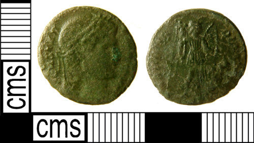 WILT-A17D13: Roman coin : Nummus of Constantine I
