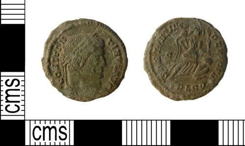 WILT-7AC851: Roman coin : Nummus of Constantine I
