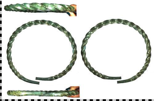 WILT-12B9D2: Middle Bronze Age torc