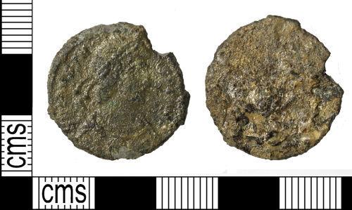 WILT-200EF8: Roman coin : Nummus of Constantius II