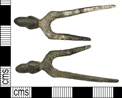 WILT-7F85E6: Medieval strap-end