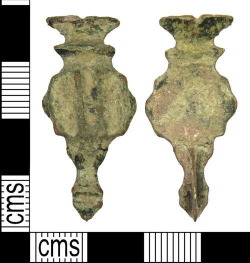 WILT-9301F8: Roman Hod Hill brooch
