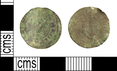 WILT-9CF226: Post-Medieval coin : Farthing of Charles I