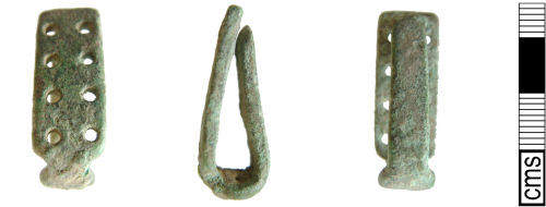 A resized image of Post medieval strap fitting