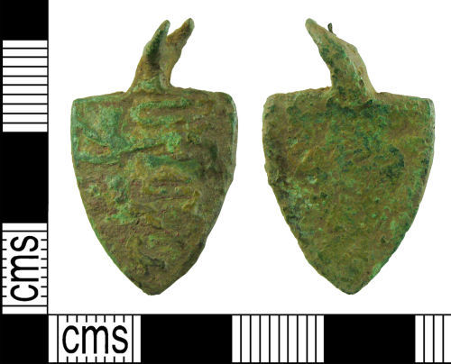 HAMP-541224: Medieval harness pendant