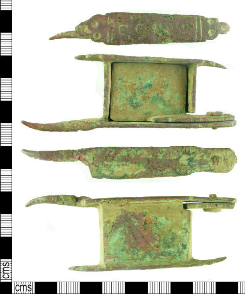 HAMP-917D56: Post-Medieval candle snuffer
