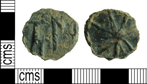 HAMP-AA70F8: Post-Medieval token