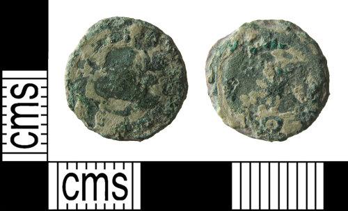 HAMP-0D73D2: Roman coin : nummus of Fausta or Helena
