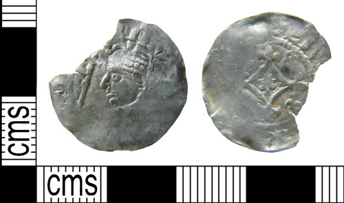 HAMP-137413: Medieval coin : penny of Henry I