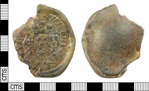 HAMP-1CB2DD: Post-medieval bottle