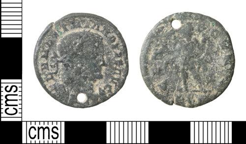 HAMP-1F1BE8: Roman coin : nummus of Maximian Herculius