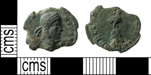 HAMP-27F5FD: Roman coin : nummus of Constans