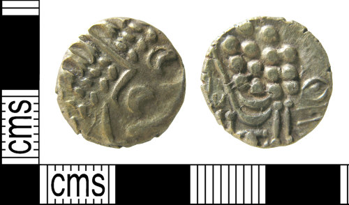 HAMP-2B42D9: Coin 1 : stater of the Durotriges, Chute Transitional type