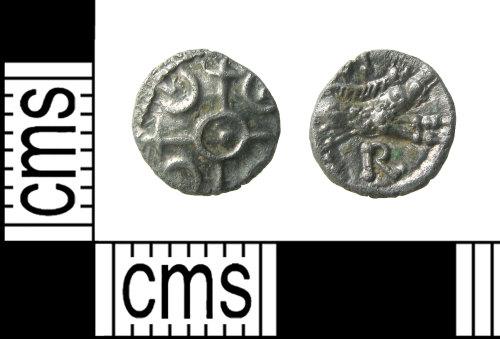 HAMP-2FEECD: Iron Age coin : minim of Verica