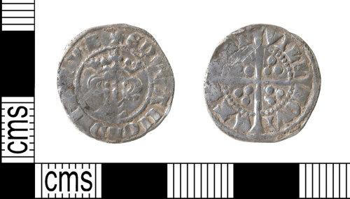 HAMP-46E21E: Medieval coin : penny of Edward I