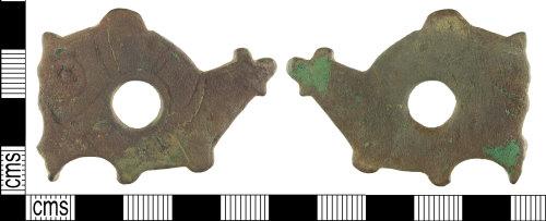 HAMP-487CEB: Late early-medieval bridle cheekpiece