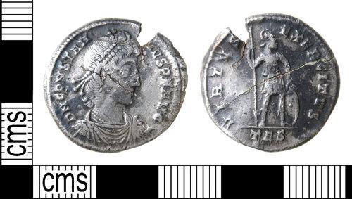 HAMP-488EBA: Roman coin : miliarensis of Constantius II