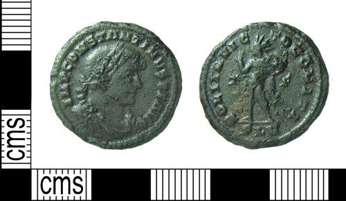 HAMP-4BCF9A: Roman coin : nummus of Constantine I