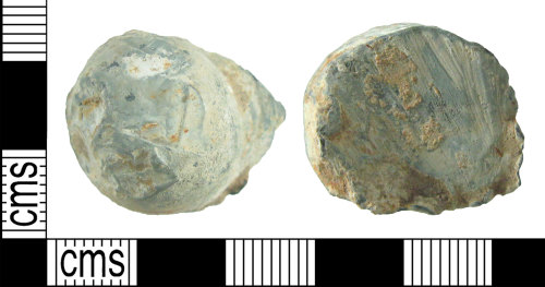 HAMP-5B4398: Post-medieval musket ball