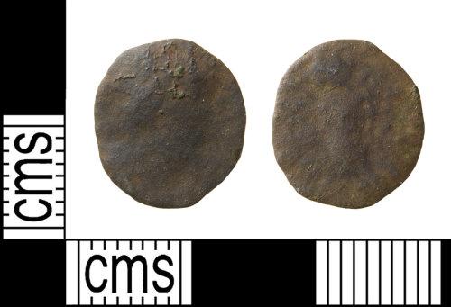 HAMP-5DC734: Roman coin : barbarous radiate of Victorinus or Tetricus I