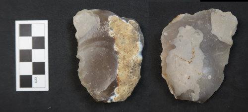 HAMP-64A3CC: Neolithic end-scraper